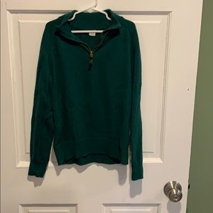 Jcrew boys half zip sweater